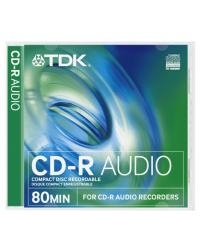 CD-R TDK 700MB/80MIN 52xSpeed AUDIO (Jewel Case 1szt)