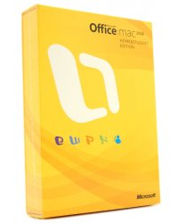 MS Office Mac Home Studt 2008EngDVD(BOX)(GZA-00006)